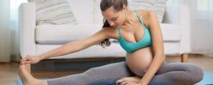Ejercicios Yoga embarzadas