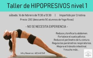Taller de Hipopresivos - YogaRivas